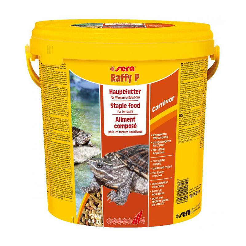 Sera raffy p secchiello 10litri for Pellet per tartarughe