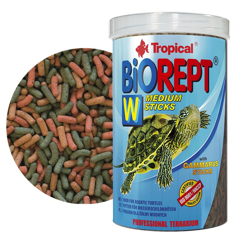 Tropical biorept w negozio acquari for Vitamina a per tartarughe
