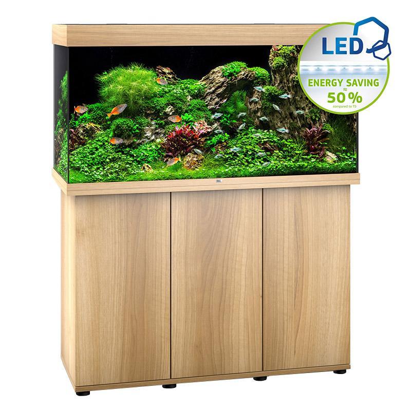 juwel rio 350 led colore faggio senza supporto negozio acquari. Black Bedroom Furniture Sets. Home Design Ideas