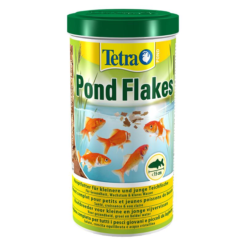 Tetra pond fiocchi per pesci da laghetto rossi 1 litro for Riproduzione pesci rossi in laghetto