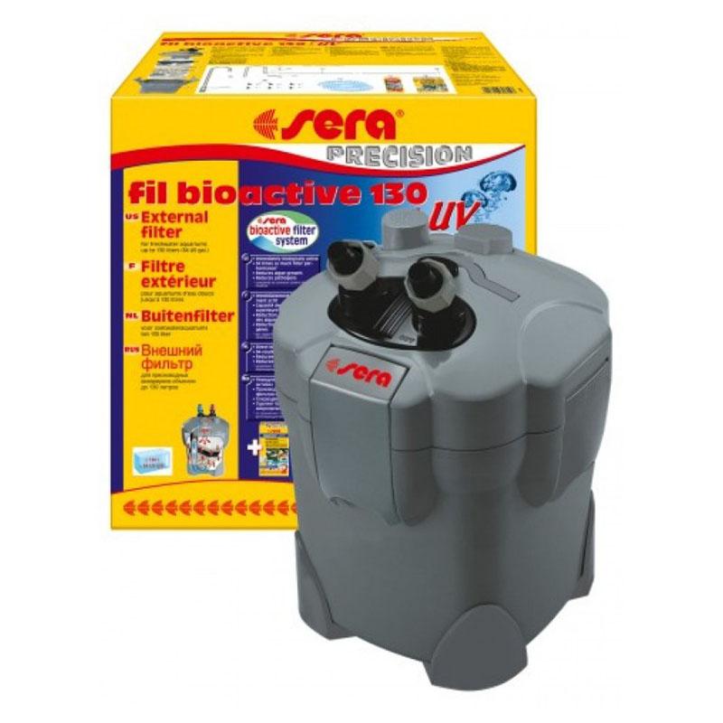Sera fil bioactive uv 130 filtro esterno con lampada uv for Lampada uv per tartarughe acquatiche prezzo