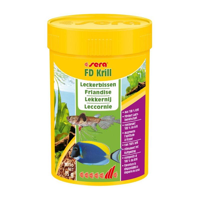 Sera fd krill 100 ml 15g negozio for Sera acquari