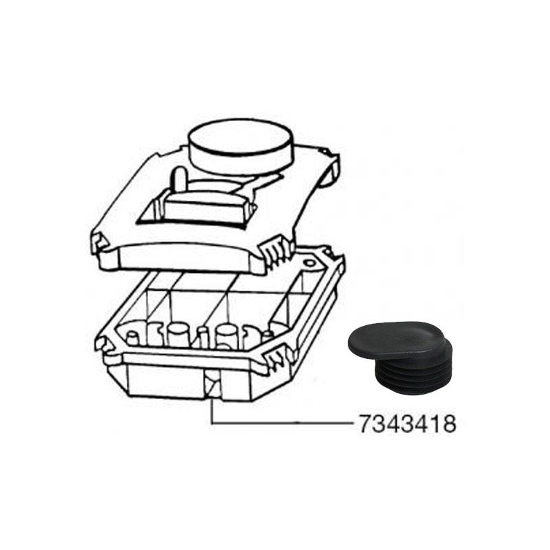 Eeheim 7343418 Parts Cleaning Pump Filter Access Cap Professionel