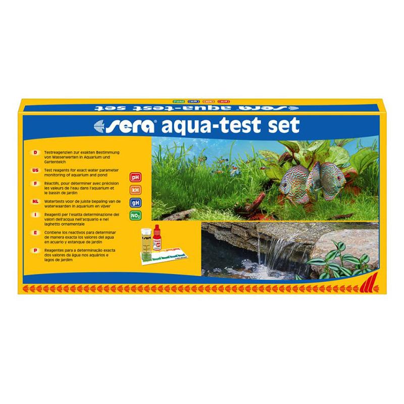 Sera aqua test set comprende ph gh kh no2 aquariumline for Sera acquari