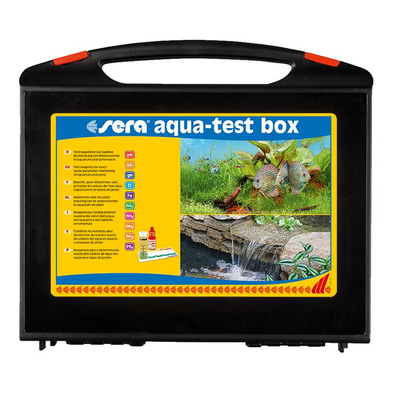 Sera aqua test box acqua dolce con test cl cloro for Arredo acquario acqua dolce
