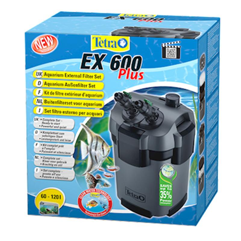 Tetra filtro esterno tetratec ex 600 plus per acquari da for Acquari tetra prezzi