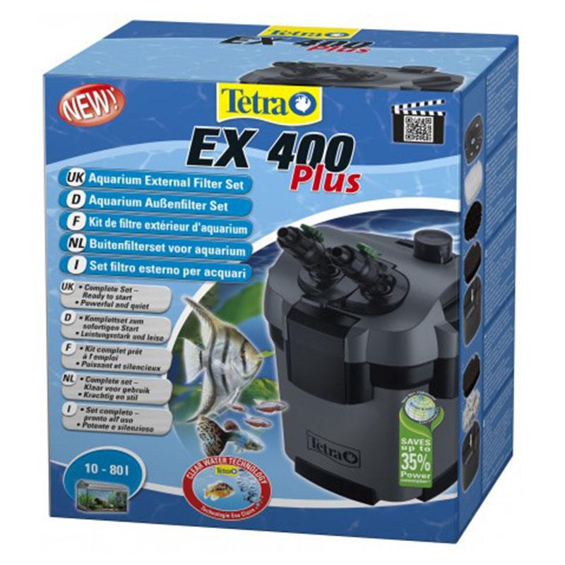 Tetra filtro esterno tetratec ex 400 plus aquariumline for Acquari tetra prezzi