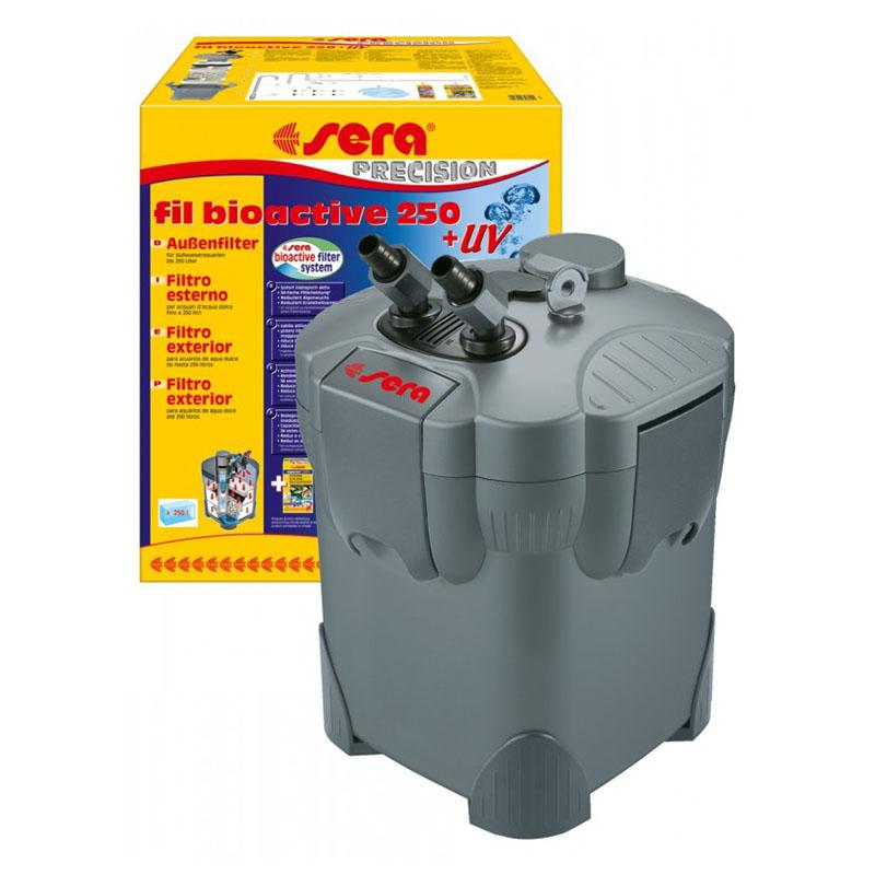 Sera fil bioactive uv 250 filtro esterno con lampada uv for Lampada uv per tartarughe acquatiche prezzo