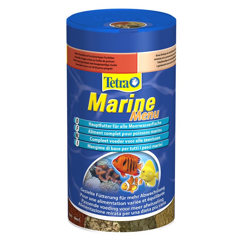 tetra marine menu mangime di base per tutti i pesci