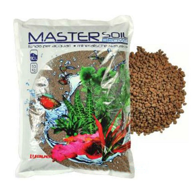 Wave master soil brown 3 3kg substrato fertile per for Arredo acquario acqua dolce