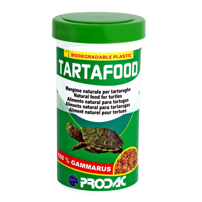 Prodac tartafood 250ml 31gr gamberetti per tartarughe di for Laghetto tartarughe usato