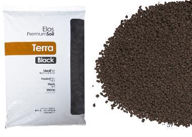 elos terra black 9 litri | aquariumline - negozio acquari