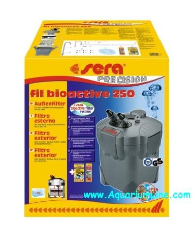 Sera fil bioactive 250 filtro esterno per acquari fino a for Sera acquari