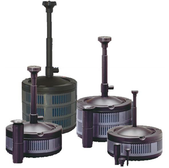 Sicce ecopond 2 filtro interno per laghetti portata for Accessori per laghetti artificiali