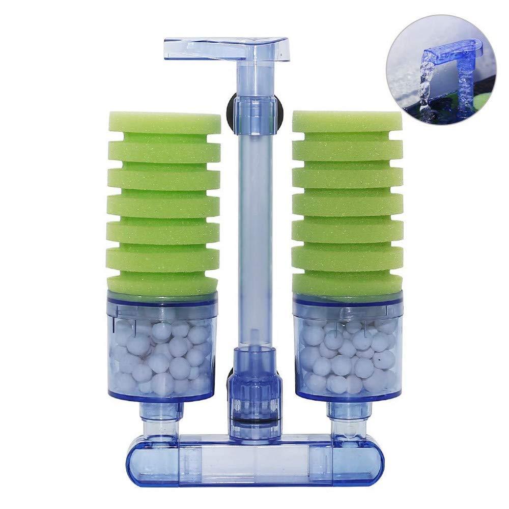 Filtro Ad Aria Caridine.Aql Double Bio Sponge Filter Aquariumline Com Negozio