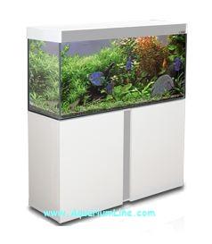 Ciano aquarium emotions nature 100 bianco senza supporto for Acquario bianco usato