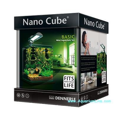 dennerle 5862 nano cube complete 60 l negozio acquari. Black Bedroom Furniture Sets. Home Design Ideas