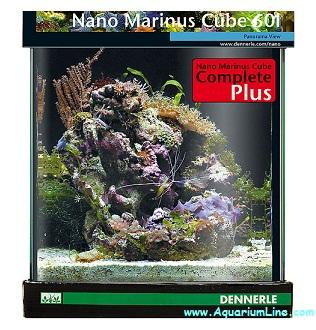 Dennerle 5615 nano marinus cube 60 complete plus for Acquario 60 litri prezzo