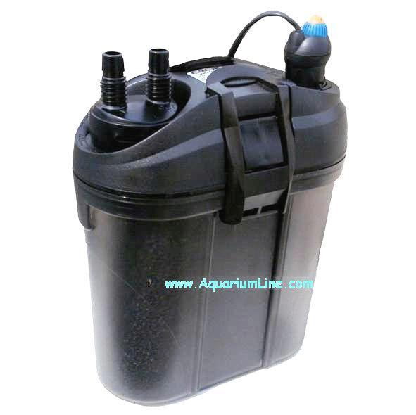Eden filtro esterno autoinnescante con termoricaldatore da for Acquario con filtro esterno