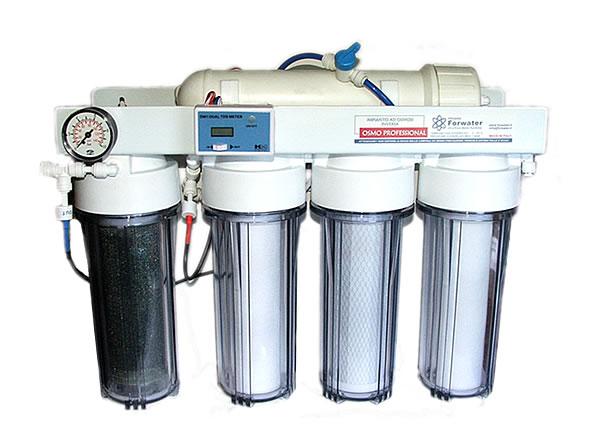 Forwater Osmopure 75 Pro008 75 GPD ( Impianto ad Osmosi a Bicchiere a 3 Stadi )  Aquariumline ...