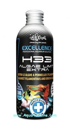 Haquoss h33 algae limit extra negozio for Alghe filamentose laghetto