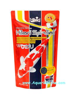Hikari spirulina mini pellet negozio for Mangime carpe koi