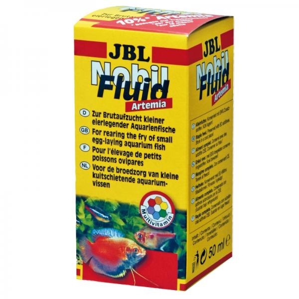 JBL Nobilfluid Artemia 50 ml - Cibo Liquido per Allevamento a Base di Artemia e Vitamine