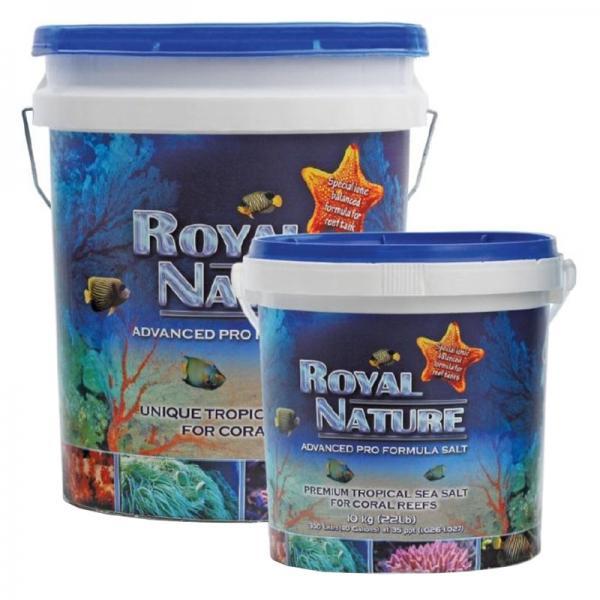 Royal Nature Salt - Sale Naturale Ottenuto per Evaporazione Solare - Ideale per Acquari di Barriera 23kg