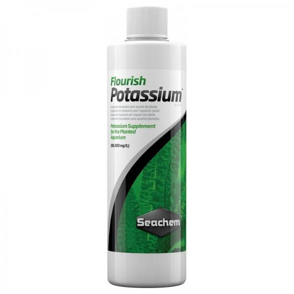 Seachem Flourish Potassium 100ml - Integratore di Potassio per Acquari d'acqua Dolce con Piante