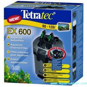 Tetra filtro esterno tetratec ex 600 per acquari da 60 a for Acquario 60 litri prezzo