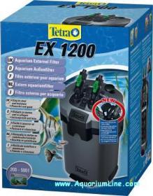 Tetra filtro esterno tetratec ex 1200 per acquari da 200 a for Acquari nuovi in offerta