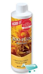 Microbe-lift zoo-plus - 236 ml (8 fl. oz.). alimento per acquari marini
