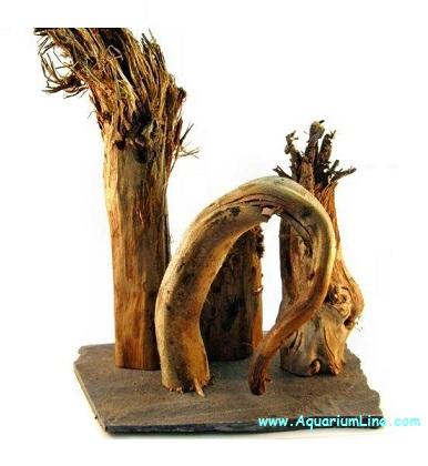 Natureline decor composizione di rami in legno naturale - Rami decorativi legno ...