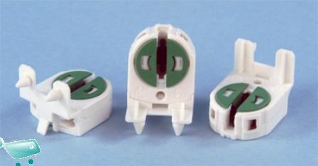 Plafoniere Per Tubi Fluorescenti : Portalampada singolo t per tubi al neon da mm aquariumline