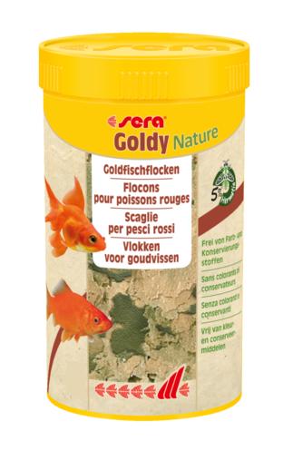 Sera goldy nature negozio acquari for Pesci acqua fredda piccoli