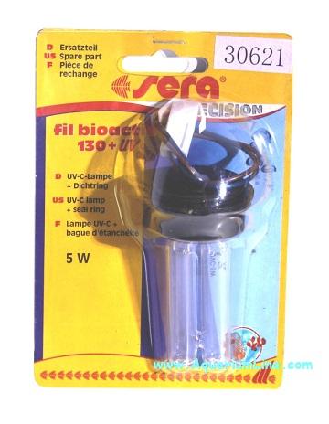 Sera ricambio lampada uv c guarnizioni per filtro fil for Lampada uv per tartarughe acquatiche prezzo