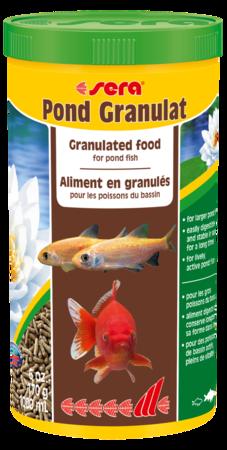 Sera pond granulat negozio acquari for Sera acquari