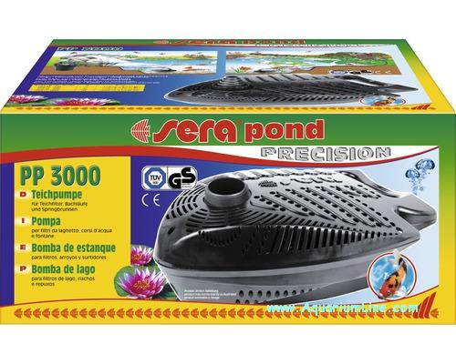 Sera pond precision pp 3000 pompa per laghetto portata for Pompa esterna per laghetto
