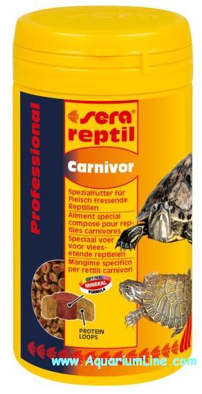 Sera reptil professional carnivor 250ml for Sera acquari