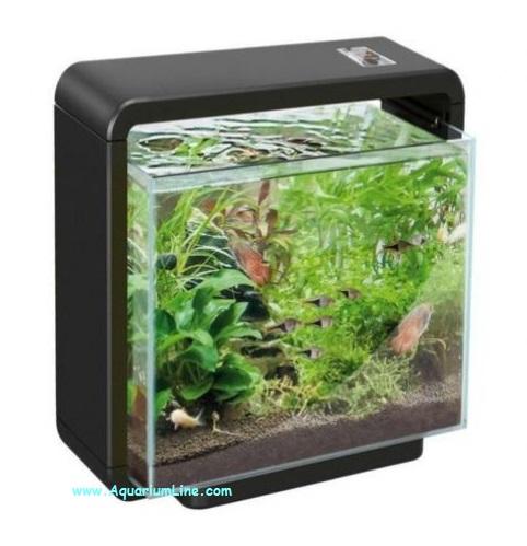 Superfish home 25xl colore nero acquario con for Acquari moderni