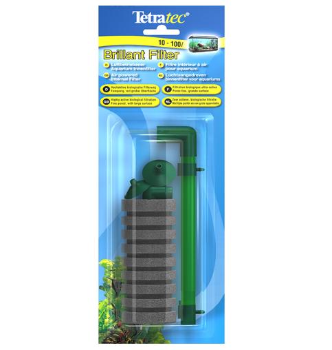 tetratec brillant filter kit completo filtro ad aria