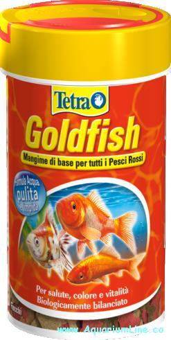 Tetra goldfish 250ml negozio acquari for Pesci rossi prezzo