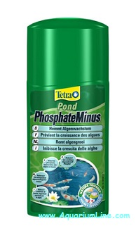 Tetra pond phosphateminus riduce i fosfati nutrimento for Laghetto alghe