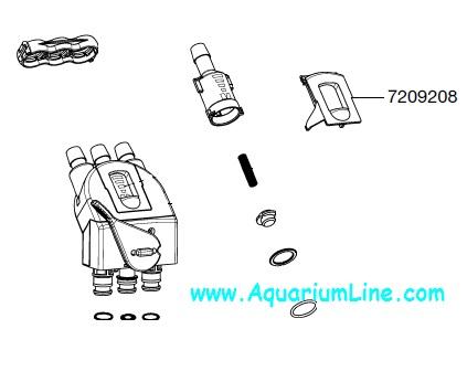 Pumps (water) Eheim 7209208 Pro 3 2080-2180 Indicator Cover Pet Supplies Aquarium