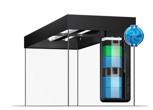 juwel lido 200 led colore nero senza supporto negozio acquari. Black Bedroom Furniture Sets. Home Design Ideas