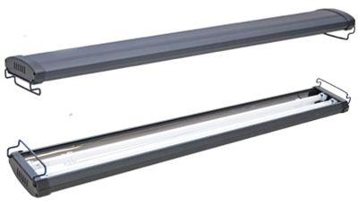 Plafoniere T5 Per Acquari Usate : Aql professional dual plafoniera ody t5 2x24= 1x 10000°k 1