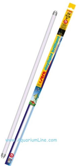 Neon t5 sera brillant daylight 54 watt 120cm 6000 k for Sera acquari