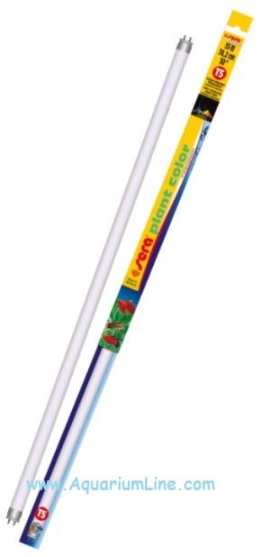 Neon t5 sera plant color 35 watt 4900 k aquariumline for Neon pesci prezzo