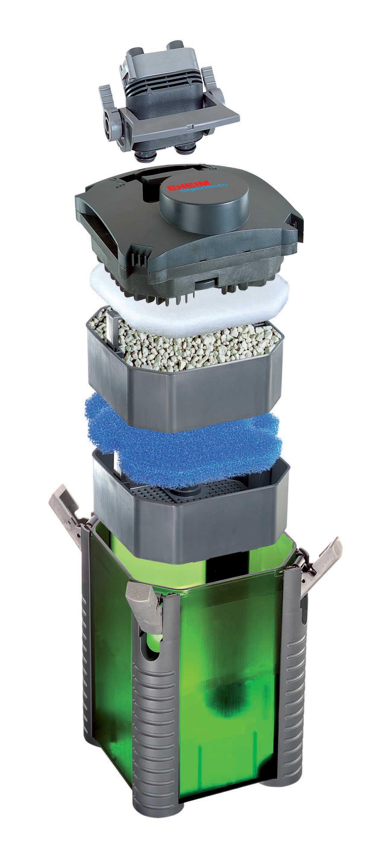 Eheim filtro esterno experience 350 completo di materiali for Miglior filtro esterno per tartarughe