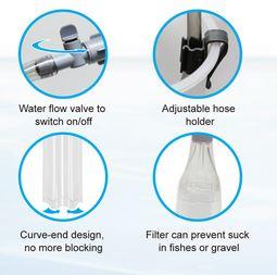 Ista Compact Syphon Cleaner Aquarium Line - Aquarium Store